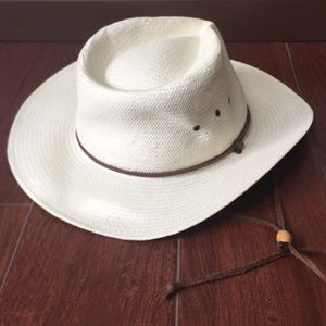 Outback trading company Sz s/m straw safari hat